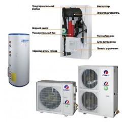 Система с тепловым насосом Gree GRS-CQ8.0Pd/Na-K